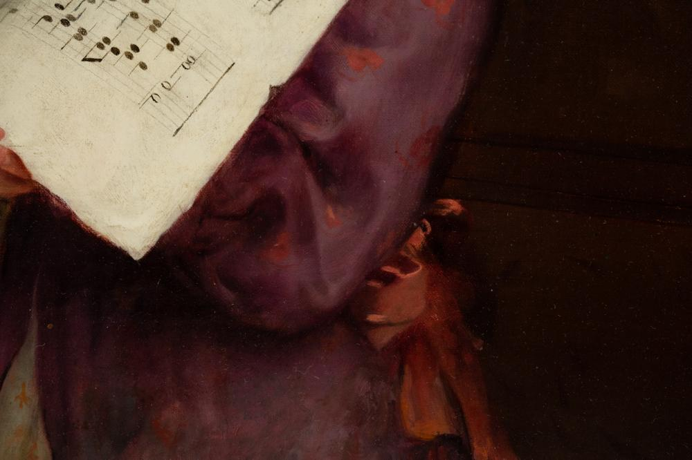 Arthur John Elsley Signed Oil on Canvas c. 1909
