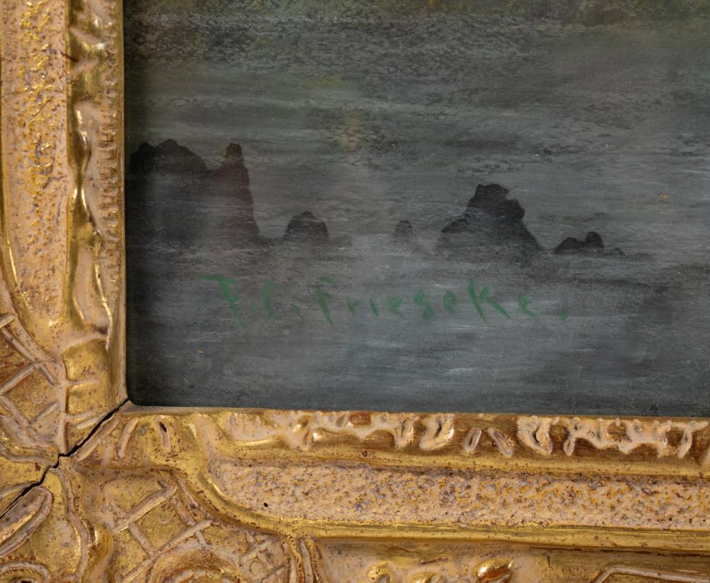 Frederick Carl Frieseke Signed Pastel on Paper