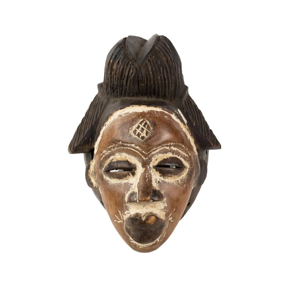 African Gabon Punu Mukudj Mask