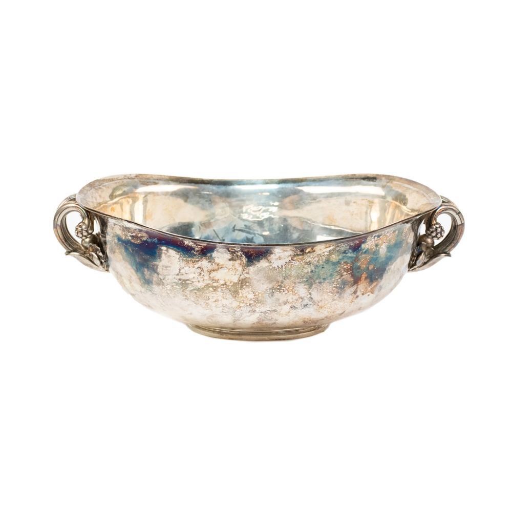 Antique Danish Sterling Silver Bowl by Georg Jensen