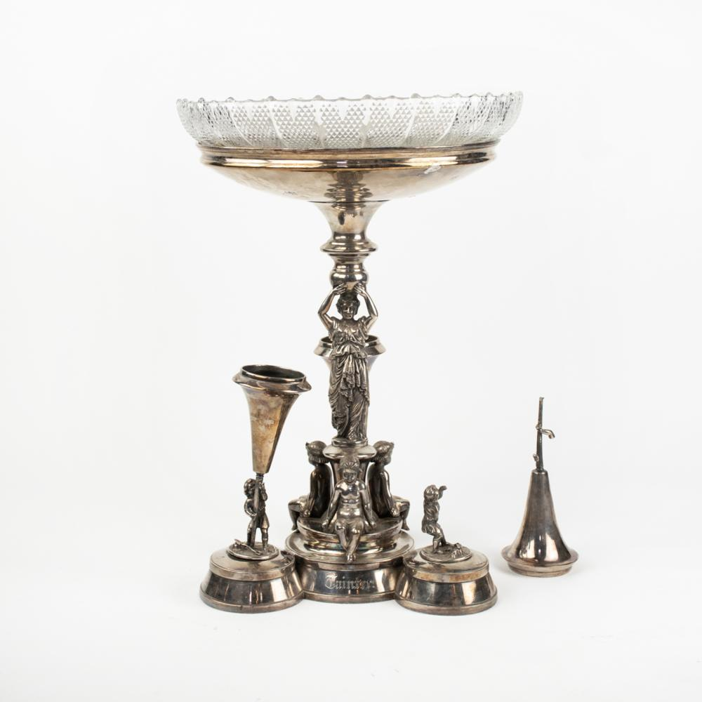 Wilcox Silver Plated 923 Centerpiece Epergne