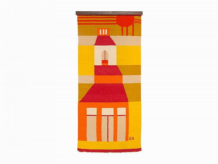 E. Ackerman, ERA Industries, Bell Tower Tapestry, USA, c. 1969