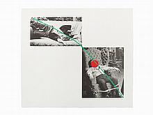 John Baldessari, Lithograph, A fix'd inflexible sorrow, 1988