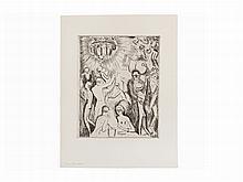 Kees Van Dongen, Boîte de la Nuit, Etching, 1927