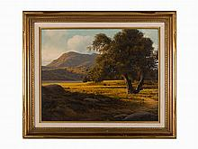 James A. Fetherolf, Late Summer, Oil on Canvas