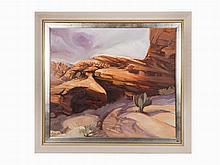 Lorenzo E. Ghiglieri, Oil on canvas, Western Sky, 1996