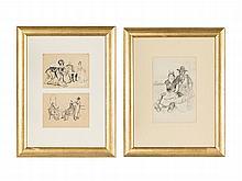 Konstantin Ivanovich Rudakov, In the Living Room (2 works)