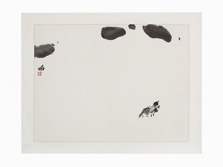 Jia Haoyi, Ink and Color Painting, China, c. 1988