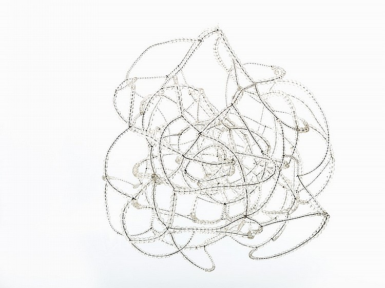 Alyson Shotz, 'A Study of Movement in Space,' 2005