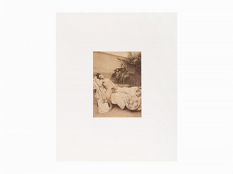 Vincenzo Galdi, Untitled (Male Nude Reclining), c. 1900