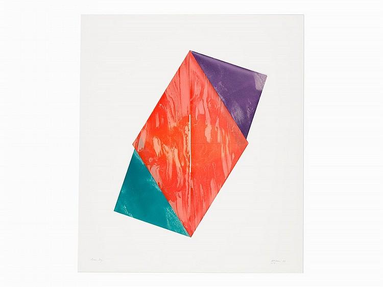 Dorothea Rockburne, 'Divine Ray', Lithograph, 1980-83
