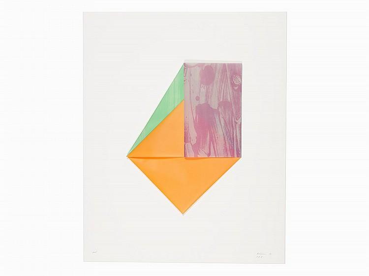 Dorothea Rockburne, 'Uriel', Lithograph, 1980-83