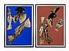 Lynda Benglis, 'Dual Natures (2 Works)', Lithographs, 1990