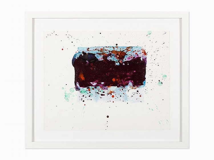 "Sam Francis, ""Untitled (SF76-023),"" Work on Paper, 1976"