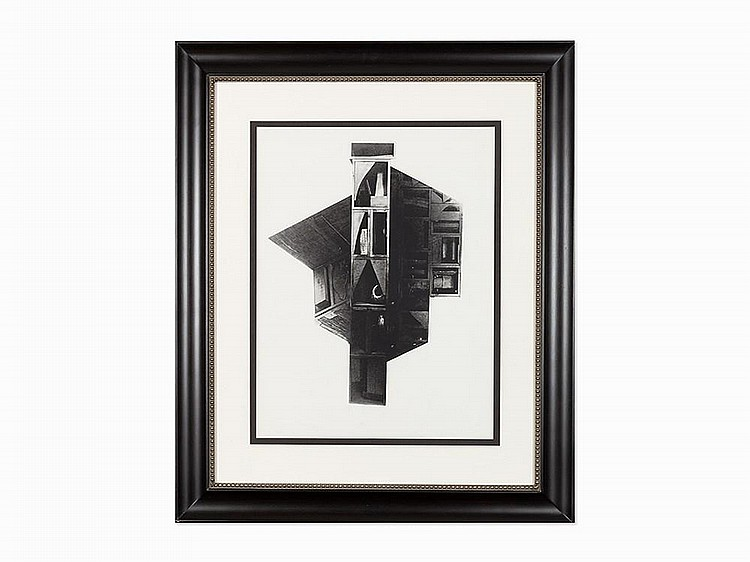 "Louise Nevelson, ""Facades #2"", Screenprint, 1966"