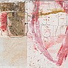 """Hannelore Baron, """"Untitled,"""" Mixed Media Collage, 1985"""