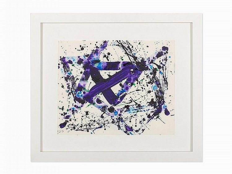 "Sam Francis, ""Untitled (SF75-1129),"" Work on Paper, 1975"