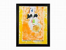"Helen Frankenthaler, ""Solar Imp,"" Screenprint, 2001"