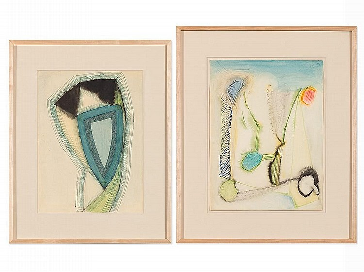 Benjamin Benno, Pair of Works on Paper, c.1940