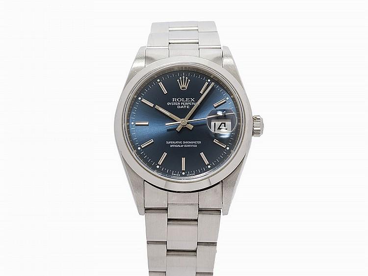 Rolex Oyster Perpetual Date, Ref. 15200, Switzerland, c.2000