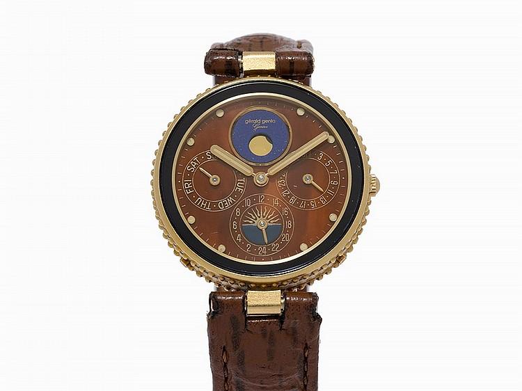 Gerald Genta Calendar Wristwatch, Ref. 2940.7, c.1990