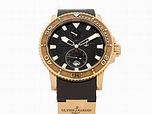 Ulysse Nardin Maxi Marine Diver, Ref. 266-33-3A/92, c.2012