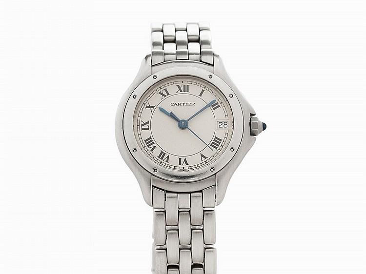 Cartier Cougar, Ref. 121000 R, Switzerland, c.2000
