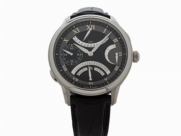Maurice Lacroix Masterpiece Retrograde GMT, Ref. MP7218, c.2015