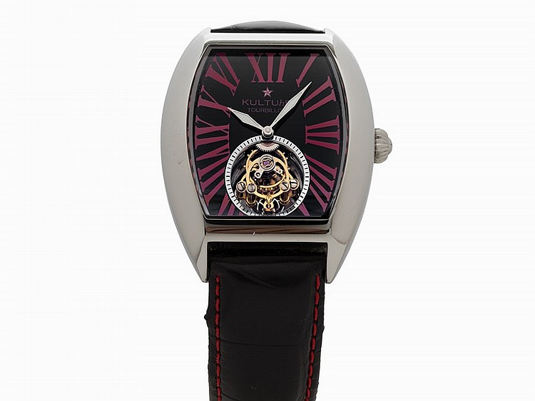 Kultuhr Superstar Tourbillon, Ref. K20GS.RB, c.2012