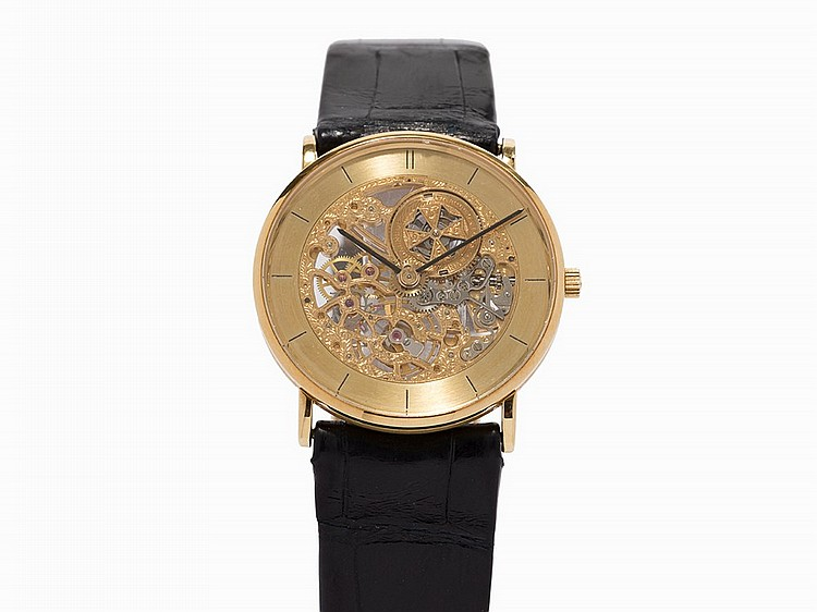 Vacheron Constantin Vintage Skeletonized Wristwatch, c.1989