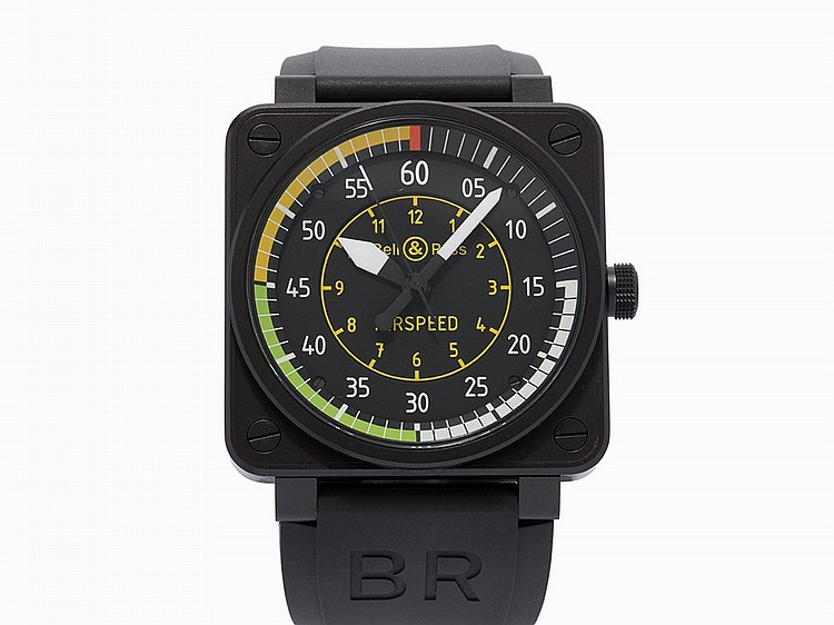 Bell & Ross Airspeed LE 472/999, Ref. BR01-92-SAS, c.2015