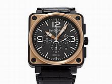 Bell & Ross Aviation Chronograph, Ref. BR01-94-S/R, c.2010
