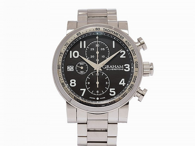 Graham Silverstone Chronograph, Ref. 2BLES.B35A.A23, c.2014