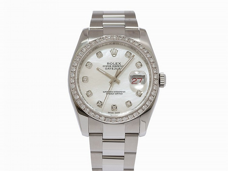 Rolex Datejust, Ref. 116200, Switzerland, c.2007