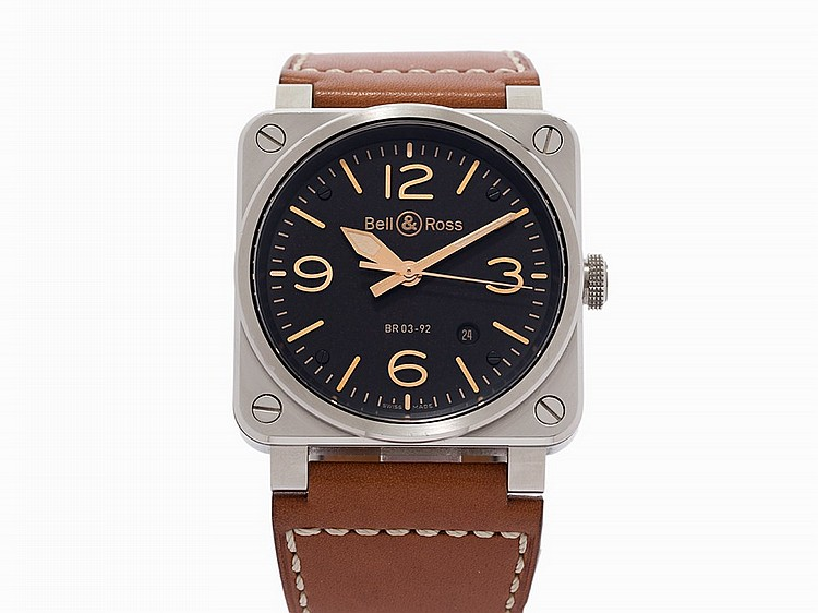 Bell & Ross Aviation Golden Heritage, Ref. BR03-92-S, c.2013
