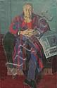 Milivoy UZELAC (1897-1977) Portrait d'Yves Mirande  Huile, Milivoj Uzelac, Click for value