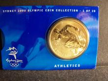 2000 Sydney Olympic Collector's Coin.  #1 of 28.