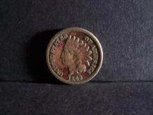 1863 COPPER NICKEL INDIAN CENT (RARE CENT !!!!!!!!!!!!!)