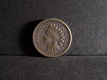 1859 COPPER NICKEL INDIAN CENT