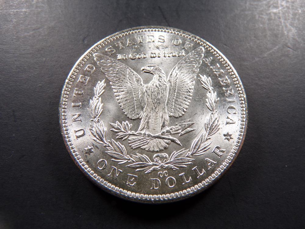 1891-CC Morgan Silver Dollar. Choice UNC!! **RARE