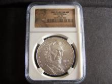 2009-P NGC GRADED MS70 LINCOLN BICENTENNIAL SILVER DOLLAR (MS70 / VERY RARE !!!!!!!!!!!!!!!!!)