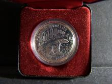 1980 50% Silver Canada Commemorative Dollar.