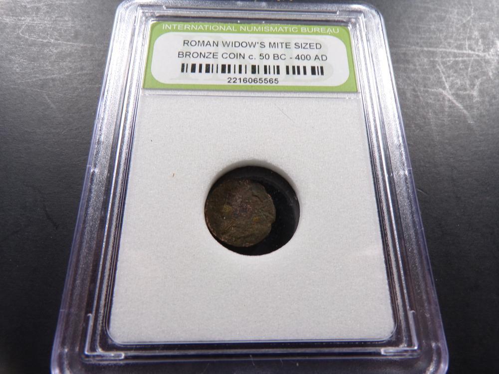 Ancient Roman Bronze Widow's Mite