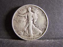 1936-D WALKING LIBERTY HALF DOLLAR (HARD TO FIND COIN !!!!!!!!!)