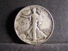 1941-D WALKING LIBERTY HALF DOLLAR (STRONG DETAILS !!!!!!!!!!)
