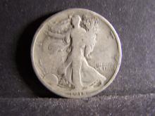 1918 WALKING LIBERTY HALF DOLLAR (KEY DATE !!!!!!!!!!)