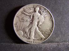 1941-S WALKING LIBERTY HALF DOLLAR (NICE DETAILS !!!!!!!!!!)