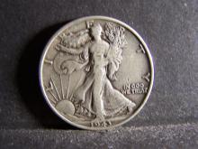 1943 WALKING LIBERTY HALF DOLLAR (NICE DETAILS !!!!!!!!!!!)