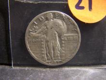 1927 STANDING LIBERTY QUARTER (RARE !!!!!!!!!!!!!!!)