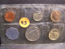 1964 UNITED STATES MINT SET (MOSTLY SILVER !!!!!!!!!!!!!!!!)